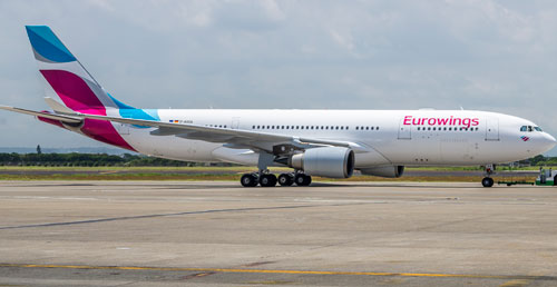 Eurowings comes to the land of the brave